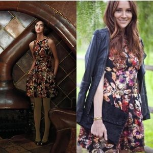 LIEFSDOTTIR Adelita Brocade Mini Dress Sz 4